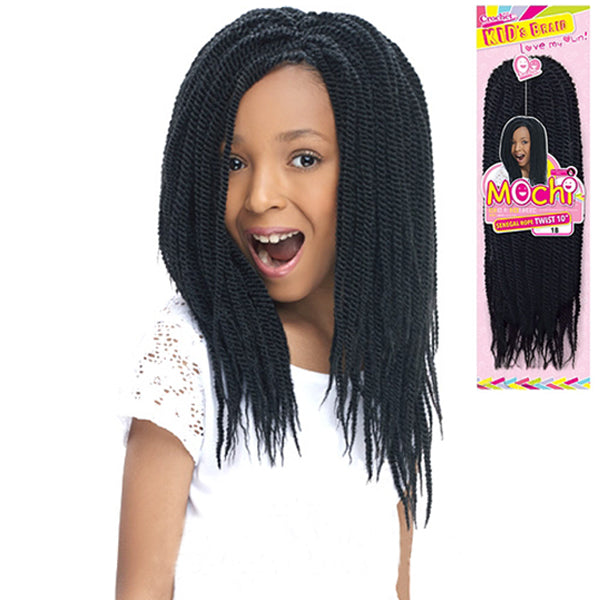 Harlem 125 Kid's Braid Collection - MOCHI Senegal Rope Twist 10""
