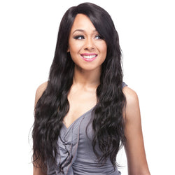 It's a Wig Brazilian Human Hair Part Lace Wig - Natural Wave 24""