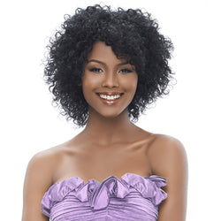 Harlem 125 Indian Remi Wet & Wavy Short Cut 3PCS - Peruvian Curl 8""