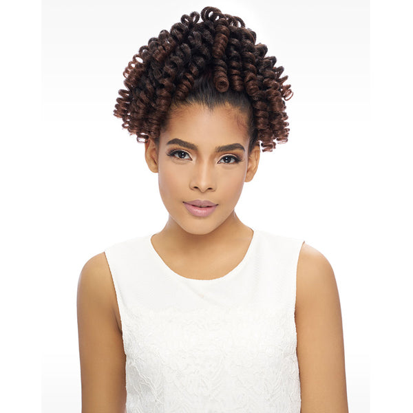 Harlem 125 Samba Kima Kalon Synthetic Drawstring Ponytail - SAMBA 157