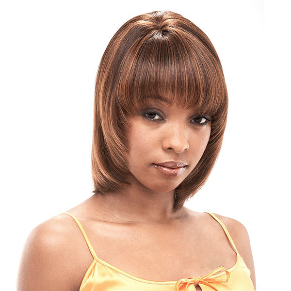 It's a Wig Human Hair Yaki 810