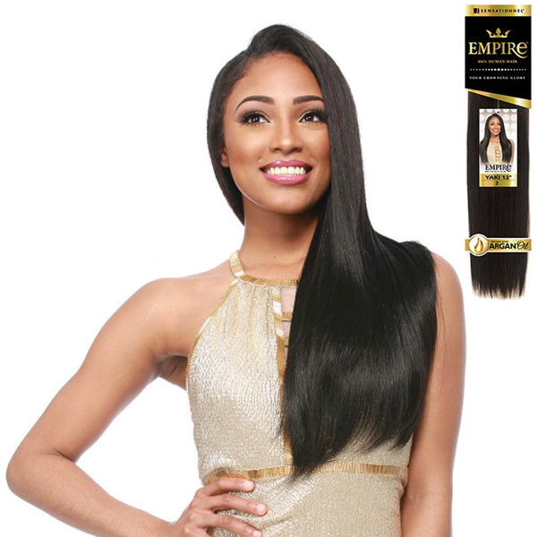 Sensationnel EMPIRE 100% Human Hair Weave - Yaki Weave