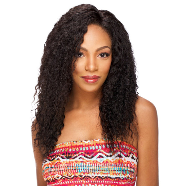 "Sensual Vella Vella Remi Hair 100% Full Hand-tied Whole Lace Wig - JERRY CURL 20""~22"""