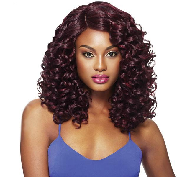 Outre Synthetic L-Part Swiss Lace Front Wig - CLARA