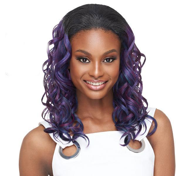 Outre Quick Weave Synthetic Half Wig - VERONA