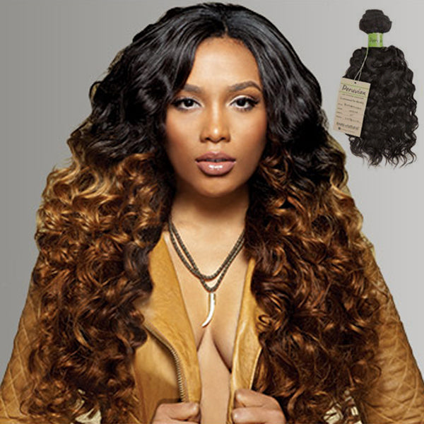 Sensationnel Virgin Remi Bundle Hair Bare & Natural - Peruvian Bohemian Wave