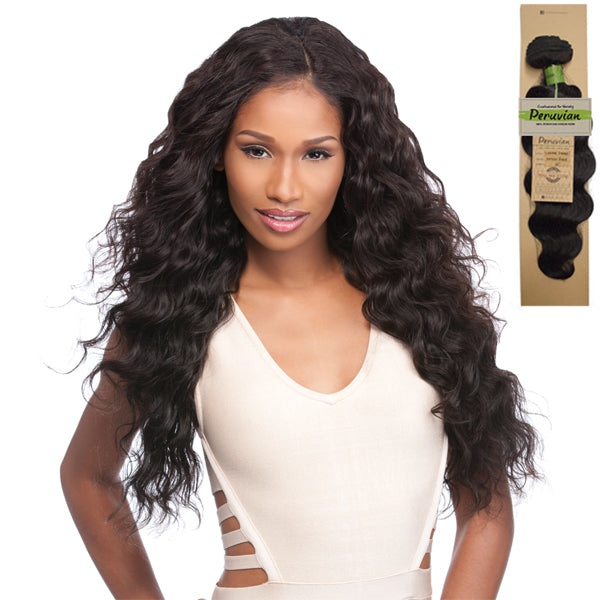 Sensationnel Virgin Remi Bundle Hair Bare & Natural - Peruvian Loose Deep