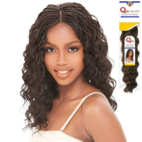 MilkyWay Que MasterMix Human Hair Loose Deep Bulk
