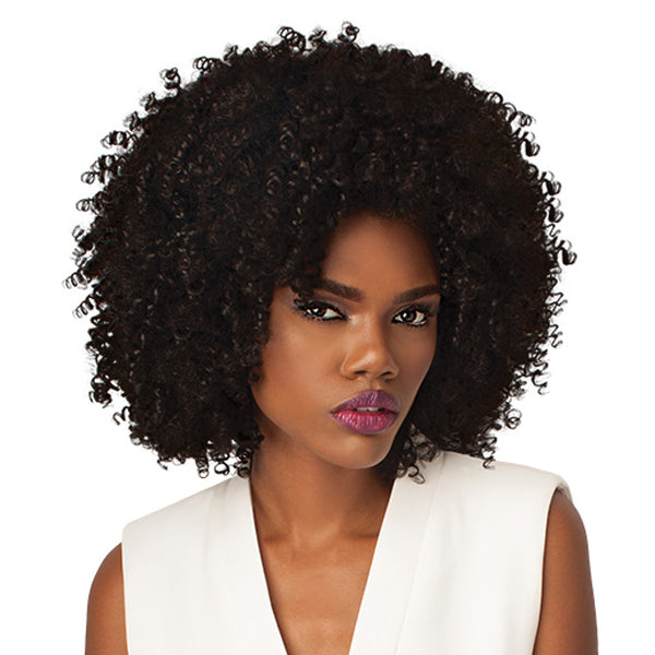 Outre Quick Weave Big Beautiful Hair Half Wig - 4A KINKY