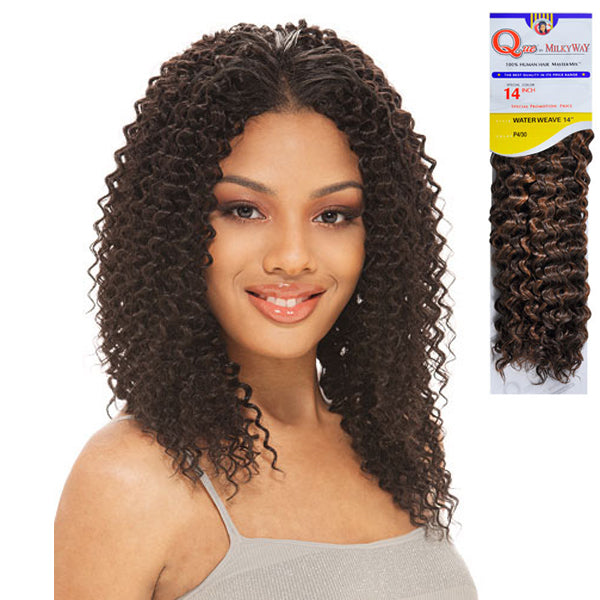Que By Milkyway Human Blend Hair Water Weave Nyhairmall