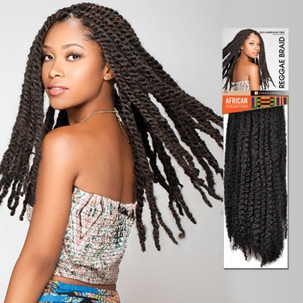 Sensationnel African Collection Havana style - Reggae Braid