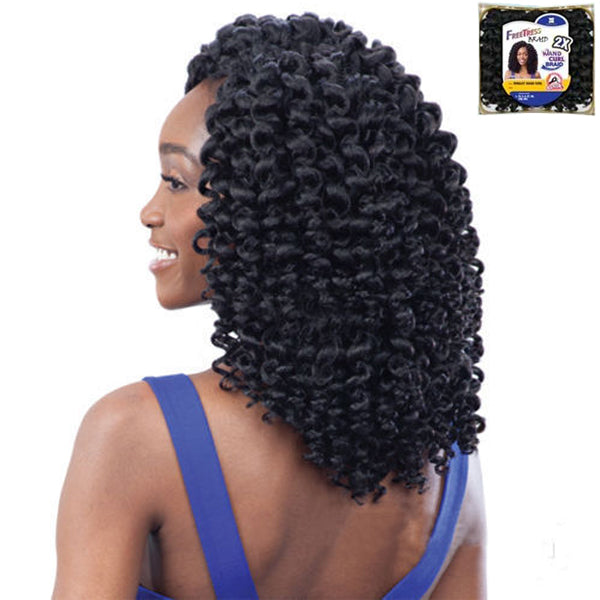 Freetress Wand Curl Braid Collection - 2X RINGLET WAND CURL