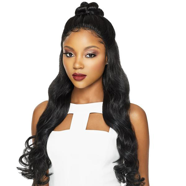 Outre Pre-Plucked 4-Way Part Swiss X Lace Front Wig - VIXEN ROMANCE CURL