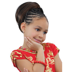 Sensual Pretty Girl Kids Drawstring Ponytail - Ruby