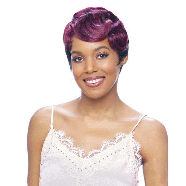 Vanessa Party Lace Deep J - Part Synthetic Full Wig - DJ SOLIS