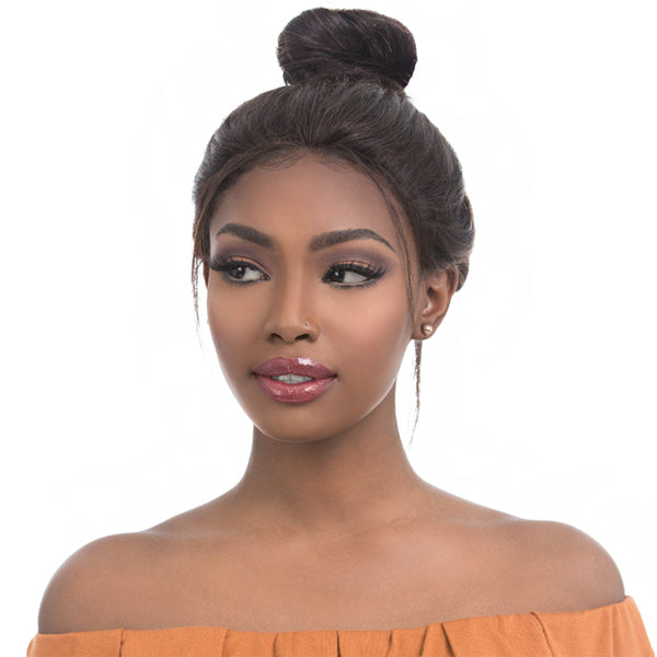 Sensationnel Brazilian Remi Bare & Natural 100% Full Hand-tied Swiss Lace Front Wig - STRAIGHT 22""