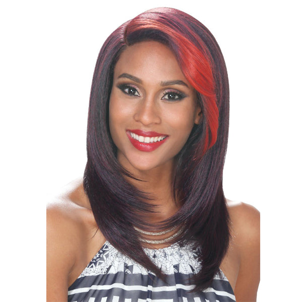 ZURY HOLLYWOOD SIS ROYAL SWISS LACE PRE - TWEEZED PART WIG - SW-H NARI