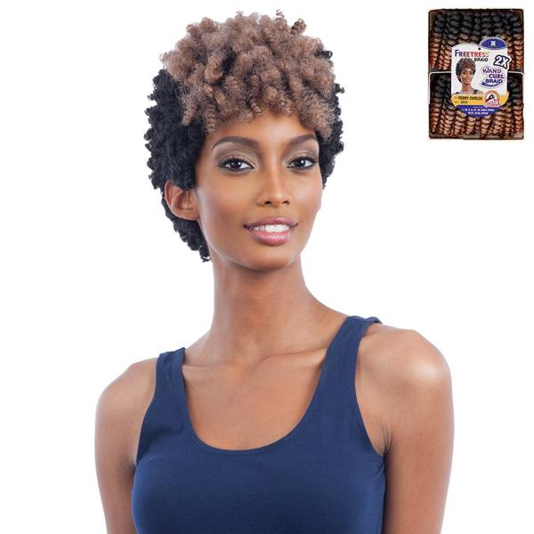 Freetress Wand Curl Braid Collection - 2X TEENY CURL (S)