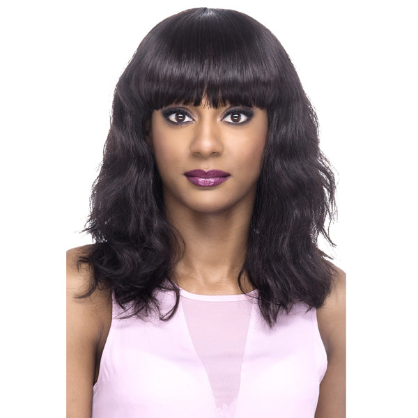 Vivica A Fox 100% Natural Brazilian Remi Hair Full Wig - VIBRANT