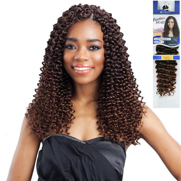 Freetress Equal Synthetic Braid - Water Wave Bulk 12""