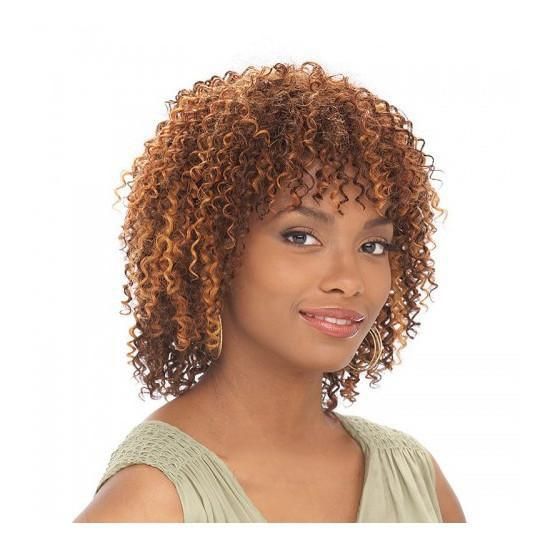 It's a Cap Weave Human Hair Wig - Water Wave
