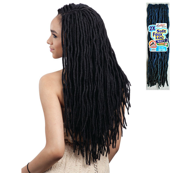 Freetress Equal Synthetic Braid - 2X SOFT WAVY FAUX LOC 20""