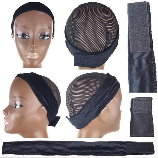 Anti-Slip Velvet Wig Grip Band With Adjustable Velcro