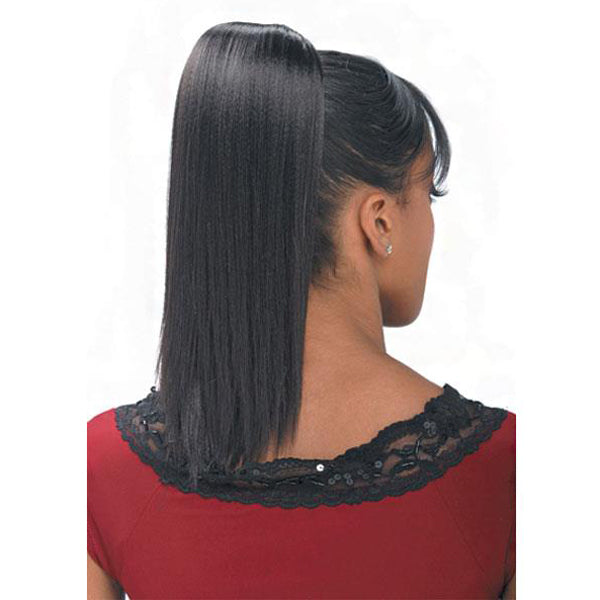 Freetress Synthetic Drawstring Ponytail - Yaky Straight 12""
