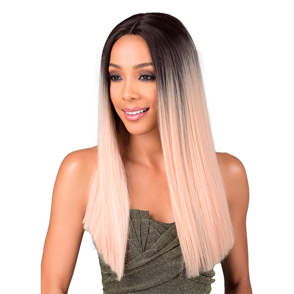 Bobbi Boss Premium Synthetic Swiss Lace Front Wig - MLF202 YARA LONG 22""
