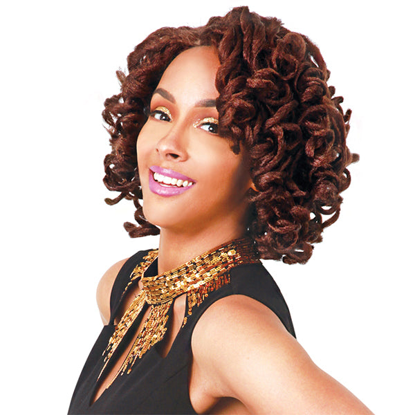 Zury Hollywood Sis Swiss Lace Pre-Tweezed Part Wig - LOC LACE BELLA