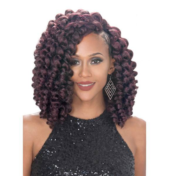 Zury Hollywood NaturaliStar V8910 Crochet Braiding Hair - ROD SET