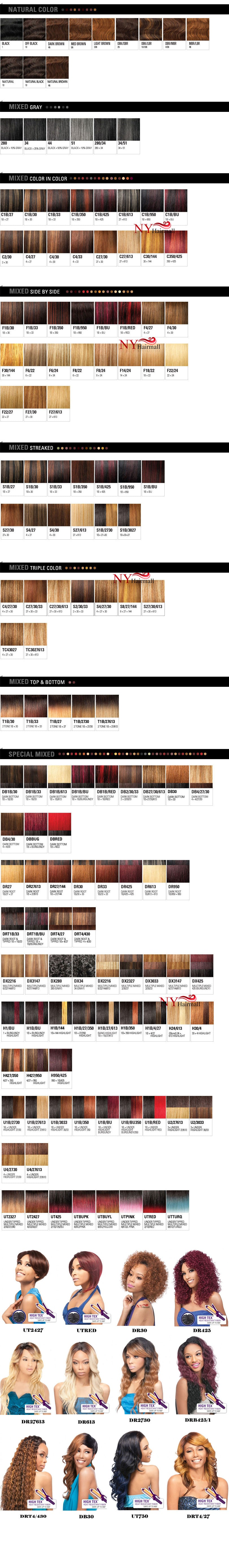 Outre Color Chart Nyhairmall