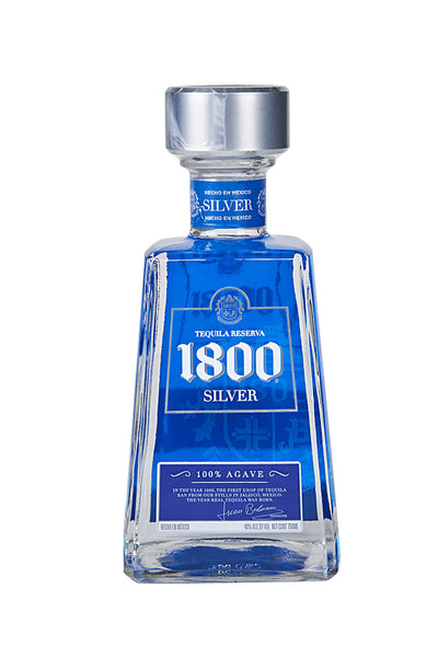 1800 Tequila Silver, Mexico 750mL