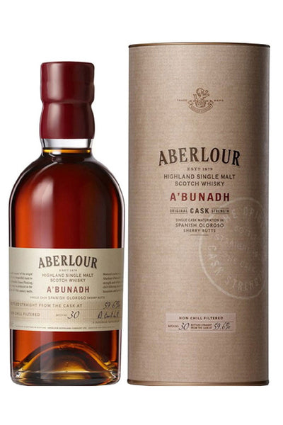 Aberlour A'bunadh Highland Single Malt Scotch 750 mL