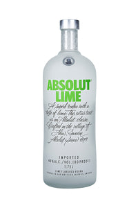 Absolut Lime, Swedish Wheat Vodka, 1.75L