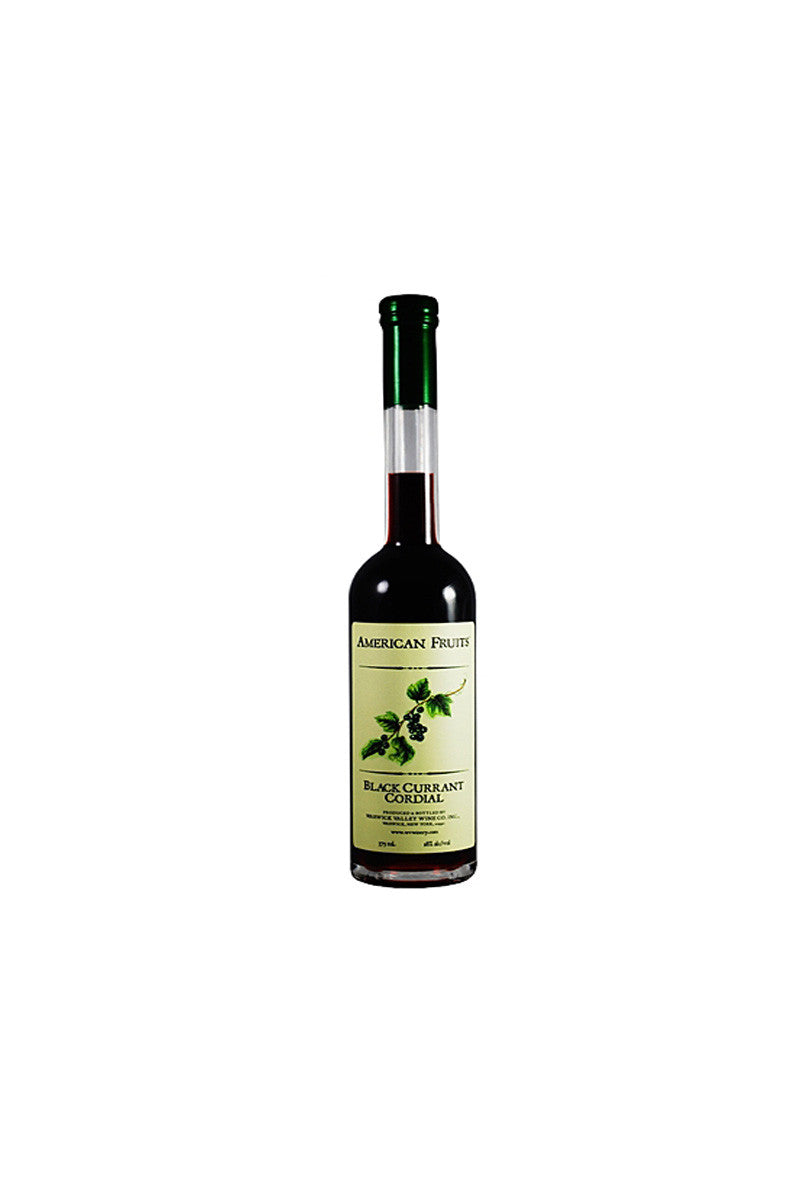 American Fruit Black Currant Cordial, Warwick, NY 375mL - The Corkery Wine & Spirits