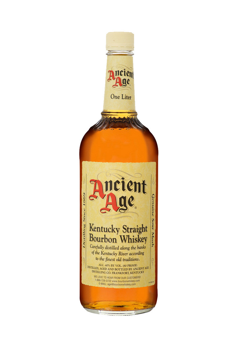 Ancient Age Kentucky Straight Bourbon 1 Liter - The Corkery Wine & Spirits