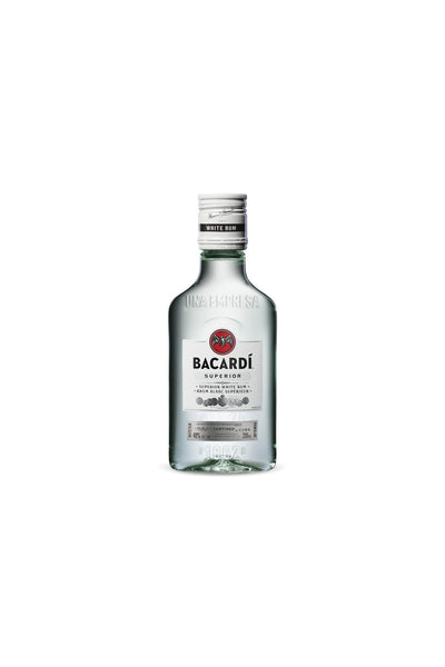 Bacardi Rum Superior White, Puerto Rico 200 mL - The Corkery Wine & Spirits