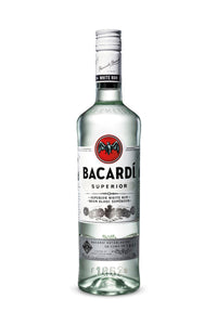 Bacardi Rum Superior White, Puerto Rico 1 Liter - The Corkery Wine & Spirits