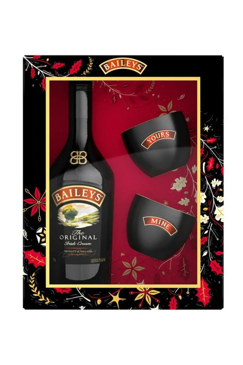 Baileys Original Irish Cream (gift set with two bowls) 750 mL