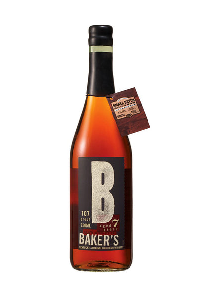Baker's 7 Year Bourbon, Kentucky 107 Proof 750mL - The Corkery Wine & Spirits