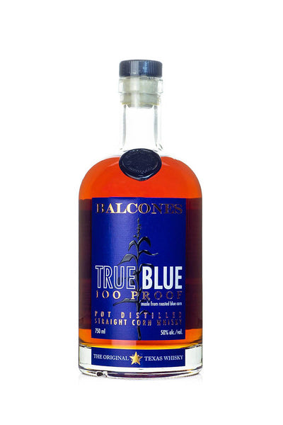 Balcones True Blue 100 Proof Corn Whisky, Texas 750mL