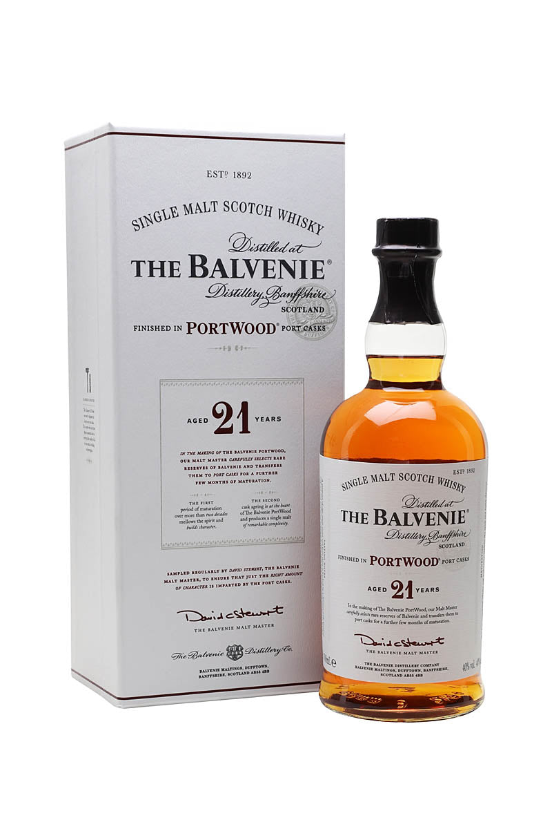 Balvenie Portwood 21 Year Single Malt Scotch