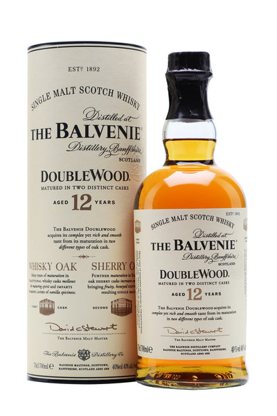 Balvenie Doublewood 12 Year Old Speyside Scotch