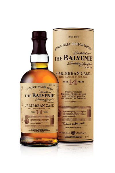 Balvenie Carribean Cask 14 Year Old Speyside Scotch - The Corkery Wine & Spirits