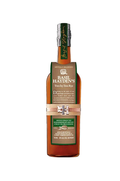 Basil Hayden's Two by Two Rye, Kentucky 750mL