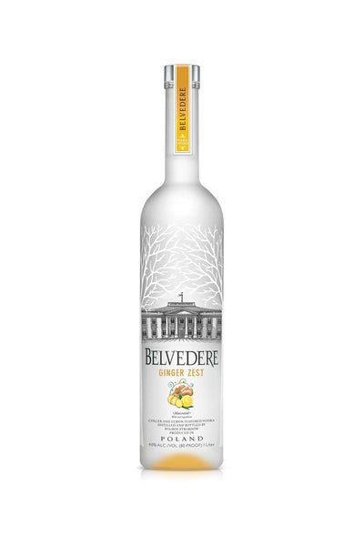 Belvedere Rye Vodka Ginger Zest Poland 750mL