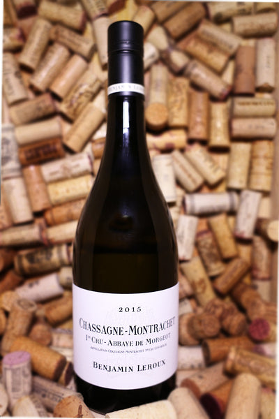 Benjamin Leroux Chassagne-Montrachet 1er Cru Abbaye De Morgeots, Burgundy, France 2015 - The Corkery Wine & Spirits