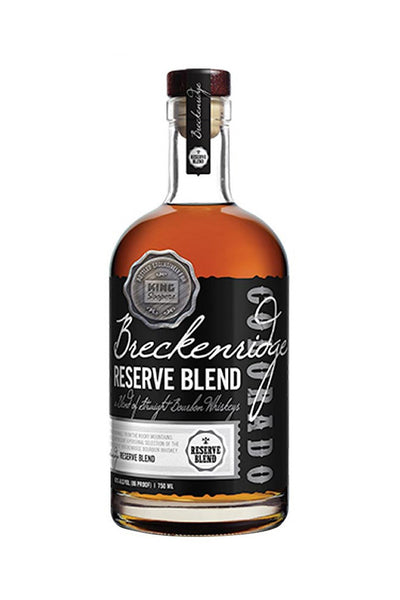 Breckenridge Distillery Reserve Blend Straight Bourbon, CO 750mL - The Corkery Wine & Spirits