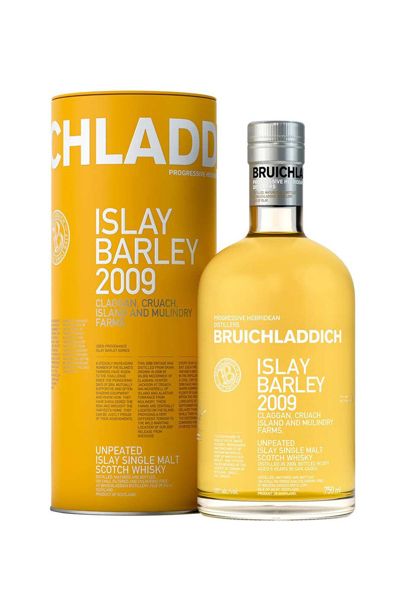 Bruichladdich, Unpeated Islay Single Malt Islay Barley 2009
